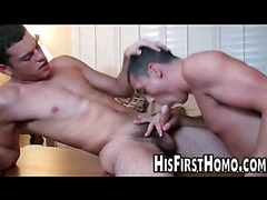 Young dudes fucking for the first time