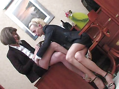 Office sissies anal sex