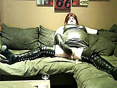 Micha DWT 7 - High Heels Boots and Cum Drinking 2