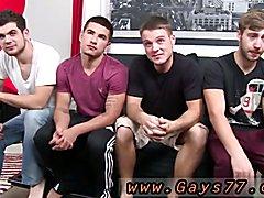 Male on male anal sex gay porn movies Orgy W Vadim, Brandon, Zeno & Blake
