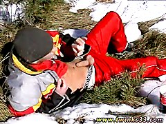 Free vintage young gay porn stars video movies Roma Smokes In The Snow