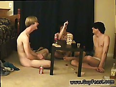 Hot boys soccer gay porn Trace and William get together with their fresh mate Austin for