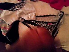 cumming on dirty panties