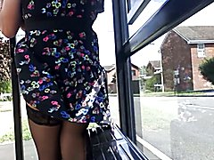 stockings exposed mix