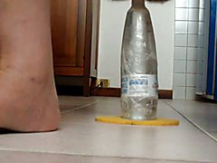extreme insertion bottle inside my ass