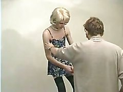 young crossdresser in casting
