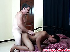 Top dilf doggystyling asian bottoms tight ass