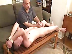 dad forces NOT his son to cum