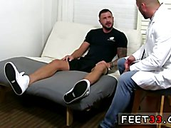 Hard gay sex long dick in underwear Dolf's Foot Doctor Hugh Hunter