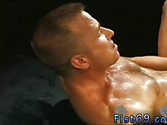 Erotic gay fist fight Club Inferno's own Uber-bottom, Rick West opens the action with an