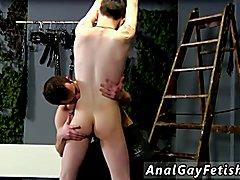 Free art bondage gay Dan Spanks And Feeds Reece