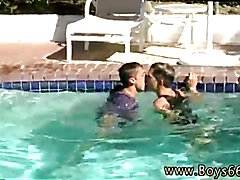 Photo gay sex boy and boy french and blonde tanned twink jacking off Chris & Ryan Pool