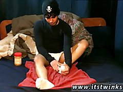 Black gangbang ladyboy gay He slathers the peanut butter all over his toes before