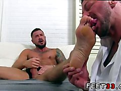 Gay cartoon hunk sex movies first time Dolf's Foot Doctor Hugh Hunter