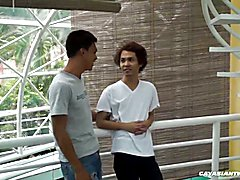 Asian Boys Argie and Chi Barebacking