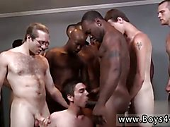 Penis milking gay sex with cow instruments first time Landon boned and cum drenched!