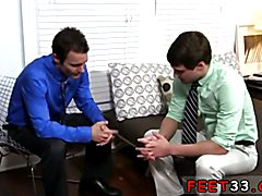 Second wife gay porn movies Hunter Page & Cameron Worship Each Others Feet