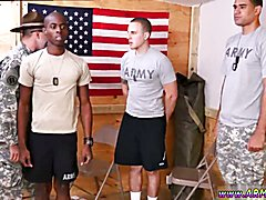 army gay sax film and soldier boy cock stories first time Yes Drill Sergeant!