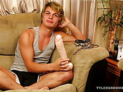 Twink Michael Takes 12 Inch Toy