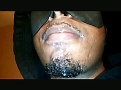 Smoking with Cum Facial