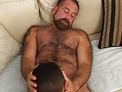 Hairy Bear Ross Wilson w older man and twink