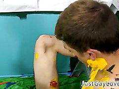 Gay boy sex movies for download Splashed and smeared with colorful smudges the folks are