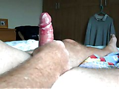 milking my fat cock