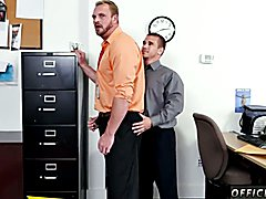 Straight spanish gay sex and elderly straight male jacking off First day at work