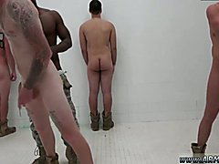 Soldiers feet gay fetish The Hazing, The Showering and The Fucking