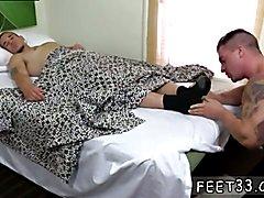 Boys classic gay sex movies first time Braden Fucks Sleepy Adam's Feet