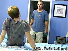 Gay locker room fist fucking Daddy McKline works his puffies while Kyler gets down and