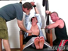 Toe licking old gay Gordon Bound & Tickle d