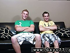 Straight high school boys go gay porn first time Leaning over, Connor gulped down Colin's