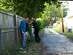 Police erotic movietures gay first time Two daddies are finer than one
