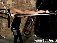 Dressing room collage gay sex photo Blindfolded slave guy Reece has found himself bound