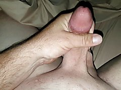 My gorgeous shaved cock in action
