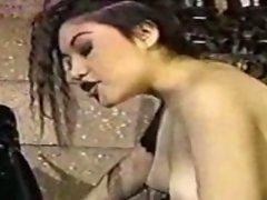 FMF Strap On Fuck. Guy fucks girl another girl fucks him.